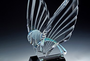 Introducing Celestial Wings, a Crystal Masterpiece by Peter Yenawine and Eileen Borgeson