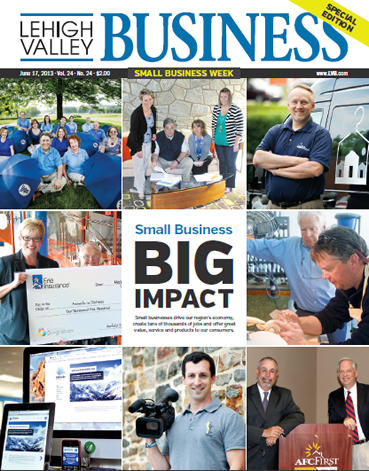 Crystal Signatures Featured in Lehigh Valley Business, June Edition